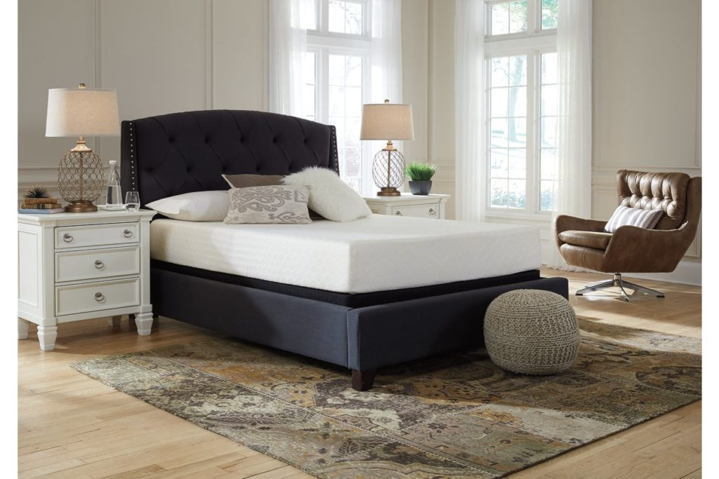 Signature Design by Ashley - 10 Inch Chime Express Memory Foam Mattress - Bed in a Box