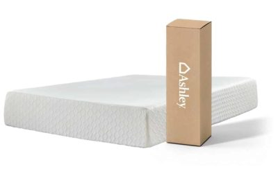 Ashley Furniture Signature Design - 12 Inch Chime Express Memory Foam Mattress - Bed in a Box - 9